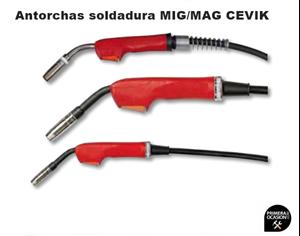 Imagen de Antorcha MIG/MAG CEVIK CE-AX15/4M