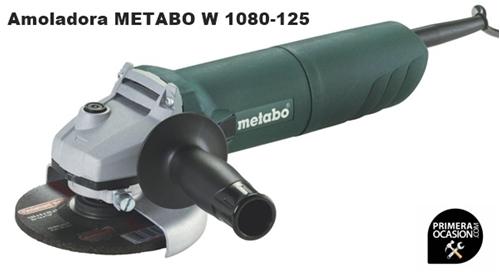 Imagen de Amoladora angular  METABO W 1080-125
