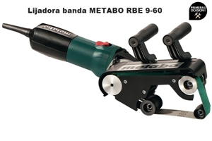 Imagen de Lijadora de banda para tubos METABO SET RBE 9-60