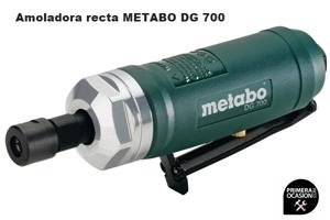 Imagen de Amoladora recta neumatica METABO DG 700