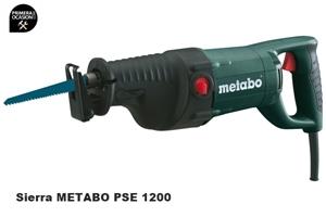 Imagen de Sierra de sable METABO PSE 1200