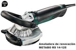 Imagen de Amoladora de renovacion METABO RS 14-125