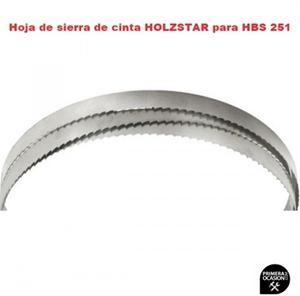 Imagen de 2 Hojas de sierra de cinta HOLZSTAR para HBS 251 cortes curvos