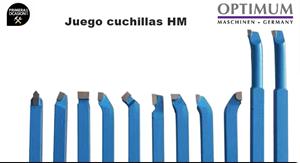 Imagen de Juego 11 cuchillas HM 16 mm OPTIMUM 3441604