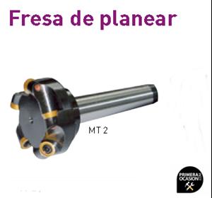 Imagen de Fresa planear OPTIMUM Cono MT 2 / M 10