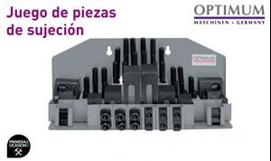 Imagen de Juego 58 piezas de sujecion OPTIMUM SPW 10