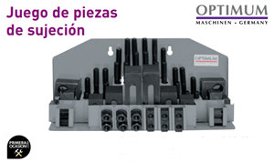 Imagen de Juego 58 piezas de sujecion OPTIMUM SPW 12