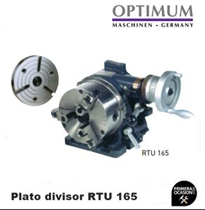Imagen de Plato divisor con plato 3 garras OPTIMUM RTU 165