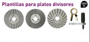 Imagen de Plantillas para platos divisores OPTIMUM IT 150