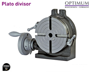 Imagen de Plato divisor para fresadora OPTIMUM RT 150