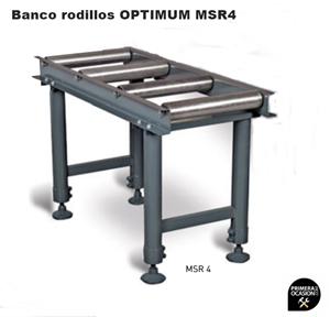 Imagen de Banco rodillos OPTIMUM MSR 4