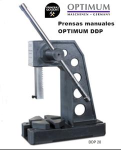 Imagen de Prensa manual  OPTIMUM DDP 20