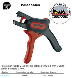 Imagen de Pelacables TENGTOOLS 186240107