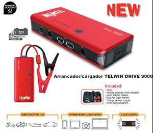 Imagen de Arrancador bateria TELWIN DRIVE 9000