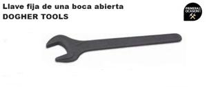 Imagen de Llave fija de una boca abierta  DOGHER TOOLS 85 mm