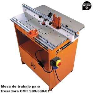 Imagen de Mesa de trabajo Industrial para fresadora CMT 999.500.01 + electrofresadora CMT7E