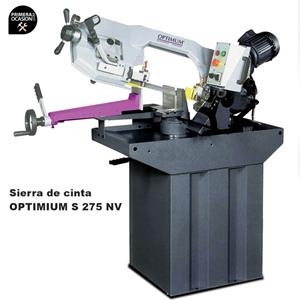 Imagen de Sierra de cinta metal OPTIMUM S 275 NV