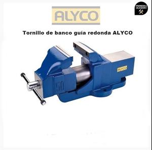 Imagen de Tornillo de banco de guia redonda 125 mm ALYCO 199355