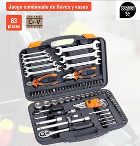 Imagen de Juego combinado de llaves y vasos HR ALYCO 83 piezas 170765