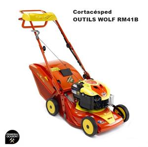 Imagen de Cortacesped gasolina Outils Wolf RM41B