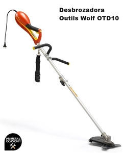 Imagen de Desbrozadora Outils Wolf OTD10 con cuchilla multi-system