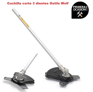 Imagen de Cuchilla corte 3 dientes en barra recta Outils Wolf TD23