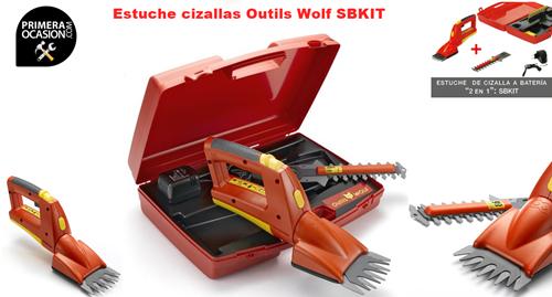 Imagen de Estuche cizallas con bateria Outils Wolf SBKIT