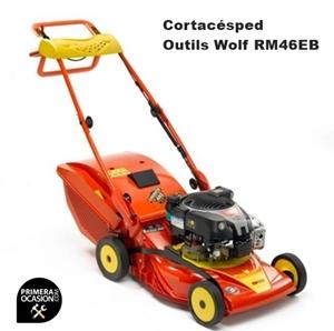 Imagen de Cortacesped gasolina arranque electrico Outils Wolf RM46EB