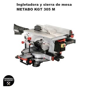 Imagen de Ingletadora y sierra de mesa METABO KGT 305 M