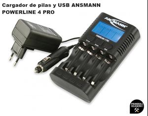 Ansmann PhotoCam Vario AA//AAA Cargador Universal para bater/ías de c/ámaras