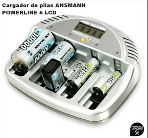 Imagen de Cargador de pilas ANSMANN POWERLINE 5 LCD