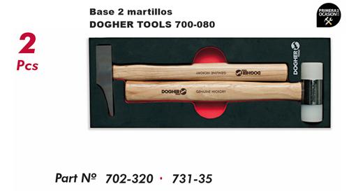 Imagen de Bandeja 2 martillos DOGHER TOOLS 700-080