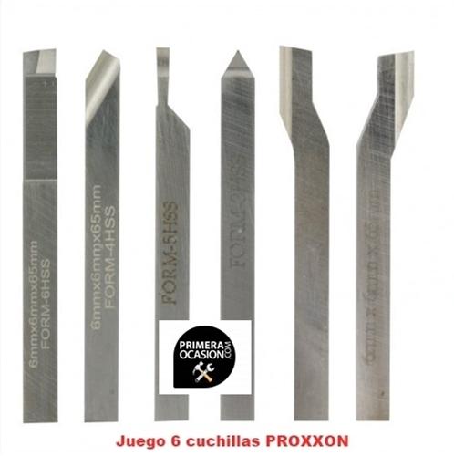 Imagen de Juego 6 cuchillas PROXXON 24524