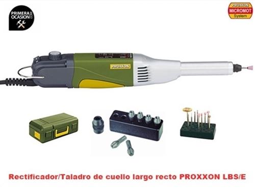 Imagen de Rectificador/Taladro de cuello largo recto PROXXON LBS/E