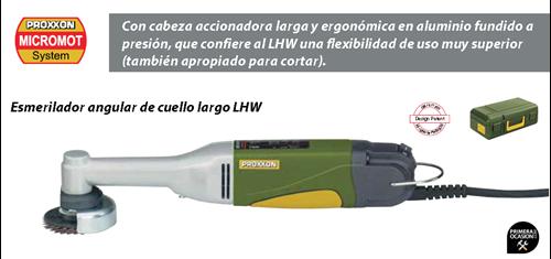 Imagen de Esmerilador angular de cuello largo PROXXON LHW