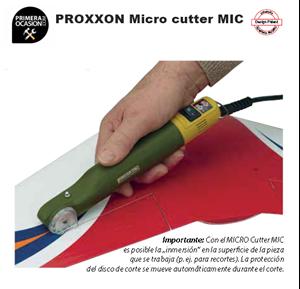 Imagen de Micro cutter PROXXON MIC+ 2 discos de corte
