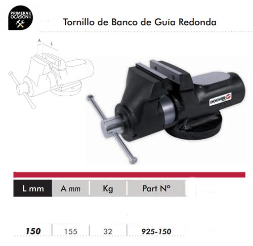 Imagen de Tornillo de banco guia redonda DOGHER TOOLS 150 mm