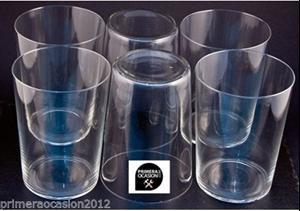 Imagen de 6 vasos de sidra cristal fino