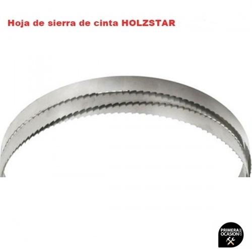Imagen de 2 Hojas de sierra de cinta HOLZSTAR para HBS 351-2 cortes curvos
