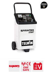 Imagen de Cargador arrancador bateria TELWIN SPRINTER 3000 START