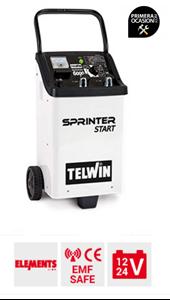 Imagen de Cargador arrancador bateria TELWIN SPRINTER 6000 START
