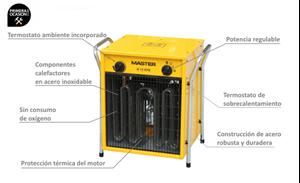 Imagen de Calentador electrico de aire MASTER B15