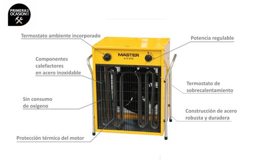 Imagen de Calentador electrico de aire MASTER B22