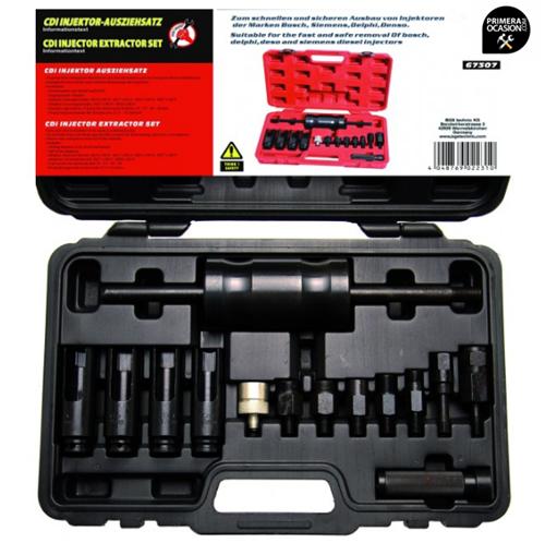 Imagen de Juego de utiles para la extraccion de inyectores KRAFTMANN 67307