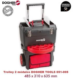 Imagen de Trolley de 2 modulos DOGHER TOOLS 051-005