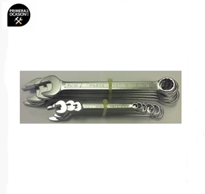 Imagen de Juego 12 llaves combinadas SAE FORCE 5121SK