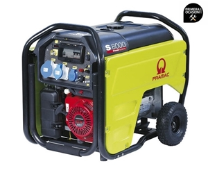 Imagen de Generador gasolina PRAMAC S8000 monofasico