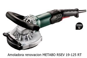 Imagen de Amoladora renovacion METABO RSEV 19-125 RT