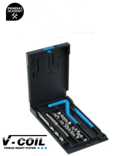 Imagen de Kit reparador roscas V-COIL Mf 8 x 1.0