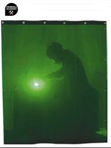 Imagen de Cortina soldadura verde SOLTER 1800x1400